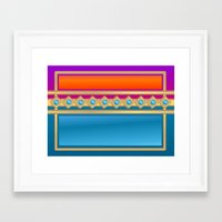 decorative Framed Art Prints featuring Decorative by elledeegee