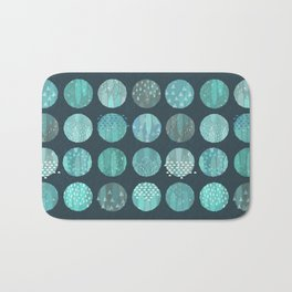 CELESTIAL BODIES - MIDNIGHT Bath Mat