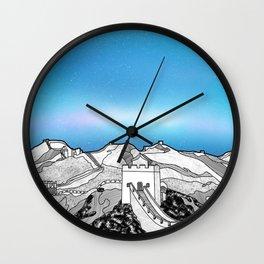 The Great Wall of China Wall Clock