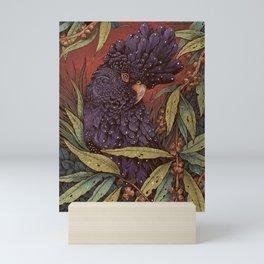 Black Cockatoo Mini Art Print
