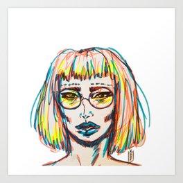 MILLENNIAL Art Print