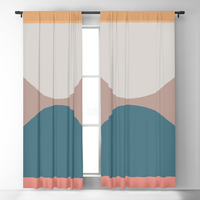 Abstract Geometric 23 Blackout Curtain