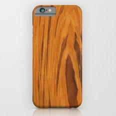 Teak Wood Slim Case iPhone 6s