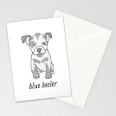 Dog Breeds: Blue Heeler/Australian Cattle Dog Stationery Cards