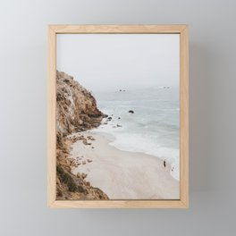 malibu coast / california Framed Mini Art Print