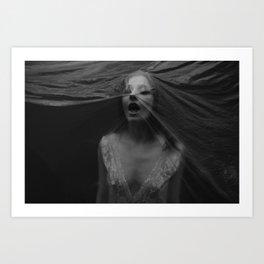 Choking Art Print