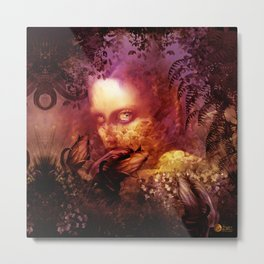 Violet fairy (Catch) Metal Print