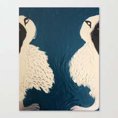 Split Birds Canvas Print