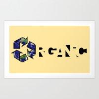 Organic Earth Art Print