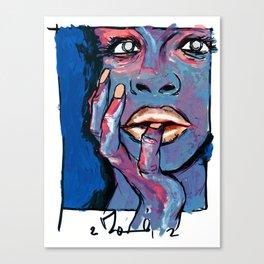 damn you juliet Canvas Print