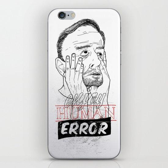 enjoy human error iPhone & iPod Skin