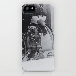 Watching a Winter Wonderland - Melrose, MA 2015 iPhone Case