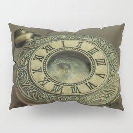 Golden pocket watch Pillow Sham