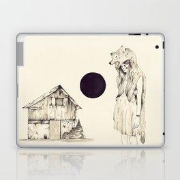 Mujer Loba Laptop & iPad Skin