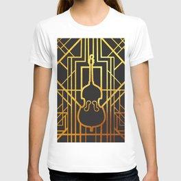 Art Deco Contrabass T-shirt