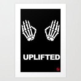 Uplifted Art Print