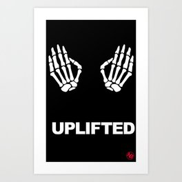 Uplifted Art Print