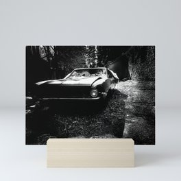 American Muscle Car Photograph Mini Art Print