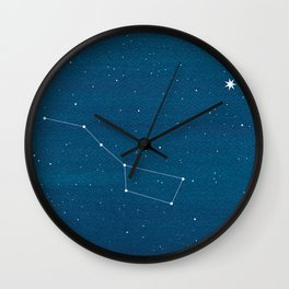 Big Dipper constellation Wall Clock