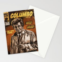 Columbo - TV Show Comic Poster Stationery Cards