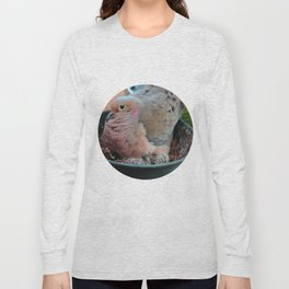 Baby Bird Peeking out at the World Long Sleeve T-shirt