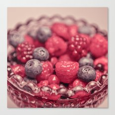 Sweet Berries Canvas Print