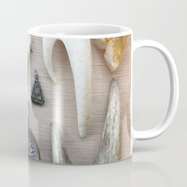 A Compass and Antlers and Artifacts, OH MY! Coffee Mug