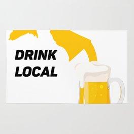 Michigan Drinking Team Beer Lovers Drink Local Rug