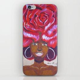 Beautiful as a Rose iPhone Skin