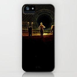 Figures in the Sun iPhone Case