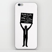 physics iPhone & iPod Skins featuring Occupy Physics Class by acrossTPB