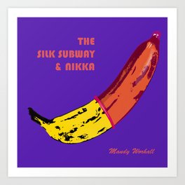 The Silk Subway & Nikka Art Print