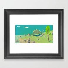 la rencontre Framed Art Print