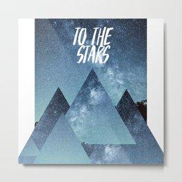 Take me To The Stras Metal Print