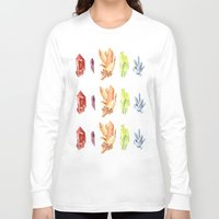 crystals Long Sleeve T-shirts featuring crystals by impalei