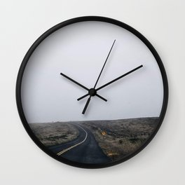 Road 1 Wall Clock