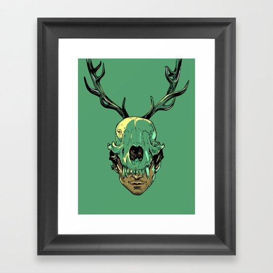 Shiizakana Framed Art Print