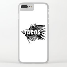 TACOS Clear iPhone Case
