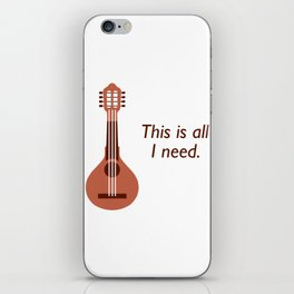 Awesome Banjo's Tshirt Design This is all I need iPhone Skin