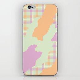 Tartan camo iPhone Skin
