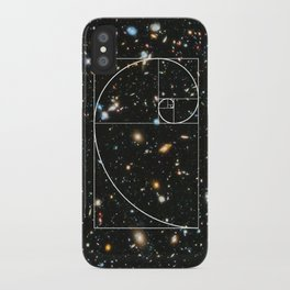 Golden Spiral Universe iPhone Case