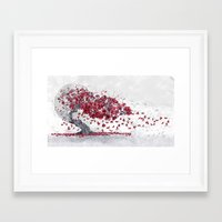 cherry blossom Framed Art Prints featuring Cherry blossom by Marine Loup