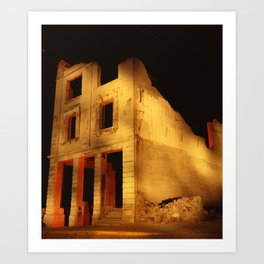 Death Valley Ruins Art Print