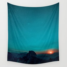 The Sunrises (Color) Wall Tapestry