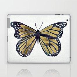 Gold Butterfly Laptop & iPad Skin