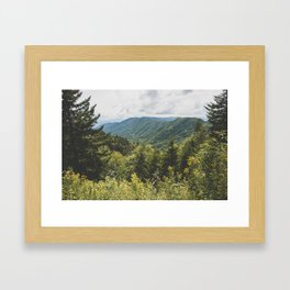 Smoky Mountain Haven - Nature Photography Framed Art Print