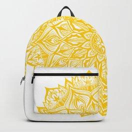 Snowflake-Yellow Backpack