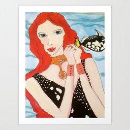 Fish Whisper Art Print