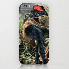 The world of dinosaurs iPhone Case
