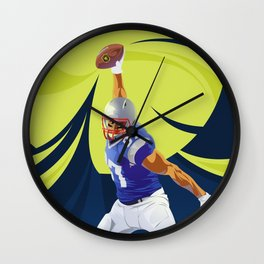 Touch Down Wall Clock